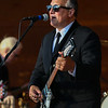 John AKA Paul Lussier plays the guitar with the HELP! Beatles Tribute Band at the Hampton Beach Seashell Stage sponsored by the Hampton Beach Village District on Tuesday July 3rd, 2018.  Matt Parker Photos