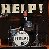 Ringo Star AKA Chris Hylander plays the drums with the HELP! Beatles Tribute Band at the Hampton Beach Seashell Stage sponsored by the Hampton Beach Village District on Tuesday July 3rd, 2018.  Matt Parker Photos