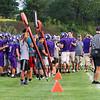 Winnacunnet Football preseason scrimmage vs Nashua South High School on Friday 8-24-2018 @ WHS.  Matt Parker Photos