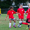 England Red and France Blue in the 3rd-4th grade HYA boys and girls Soccer game day on Saturday 9-22-2018 @ Tuck Field, Hampton, NH.  Matt Parker Photos