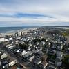St. Patrick's Catholic Church and Hampton Beach aerial views on Saturday 9-22-2018, Hampton Beach, NH.  Matt Parker Photos