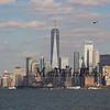 Staten Island Ferry views, New York City Marathon weekend on Sunday 11-3-2019, New York City, NY.  Matt Parker Photos
