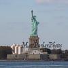 Statue of Libery from the Staten Island Ferry, New York City Marathon weekend on Sunday 11-3-2019, New York City, NY.  Matt Parker Photos