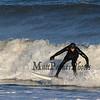 Surfing at The Wall at North Beach Hampton, NH on New Year's Day 1-1-2019.  Matt Parker Photos