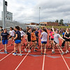 Winnacunnet boys and girls Spring track practice on Friday 4-19-2019 @ WHS.  Matt Parker Photos