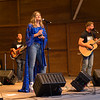 Country Music singer Ayla Brown performs with her band on Wednesday 7-31-2019 at the Hampton Beach Seashell Stage on 7-11-2018.  Hampton Beach, NH.  Matt Parker Photos