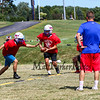WHS Football Veer Camp and team cookout on Sunday 8-11-2019 @ Winnacunnet High School.  Matt Parker Photos