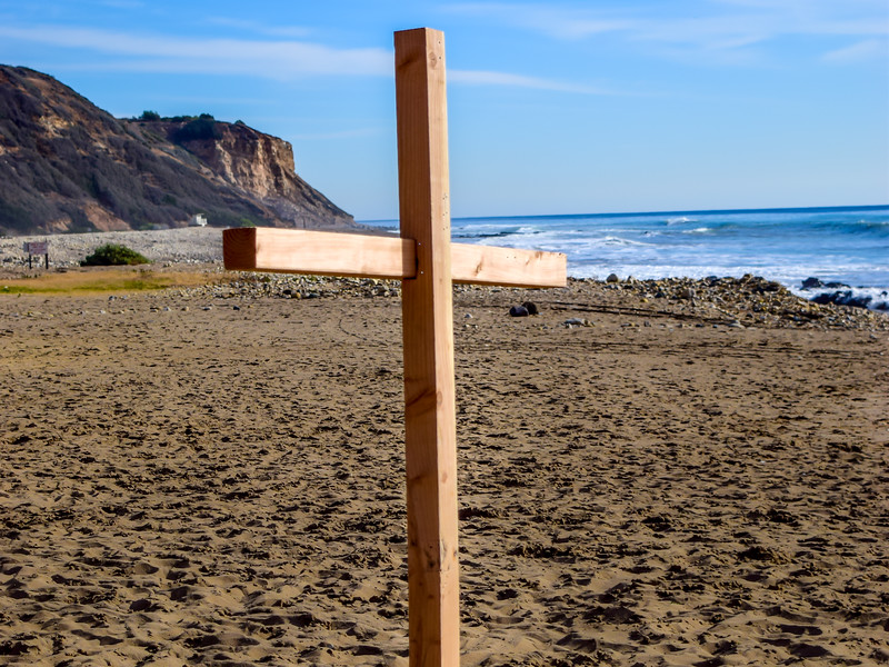Cross at the Beach