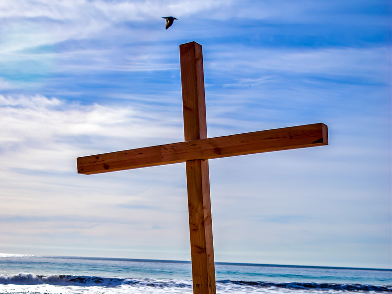 Cross and Beach