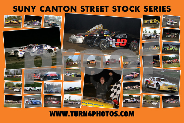 street stock collage