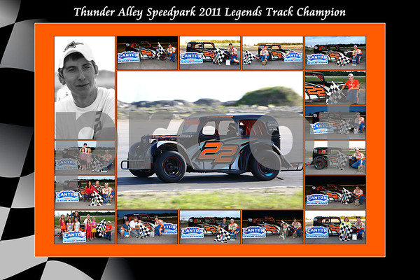 2011 legend thunder alley collage