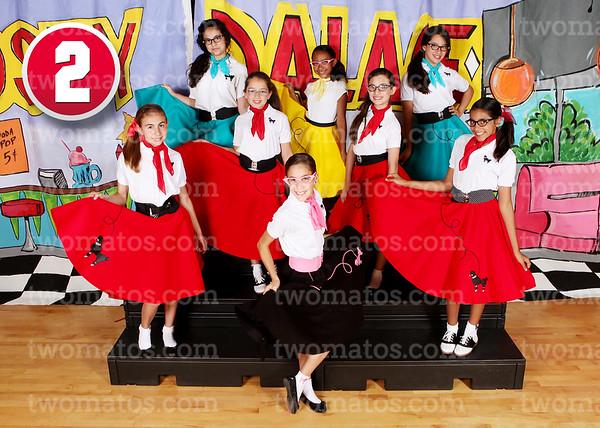 <center><i>2. Poodle Skirts: 5th Grade