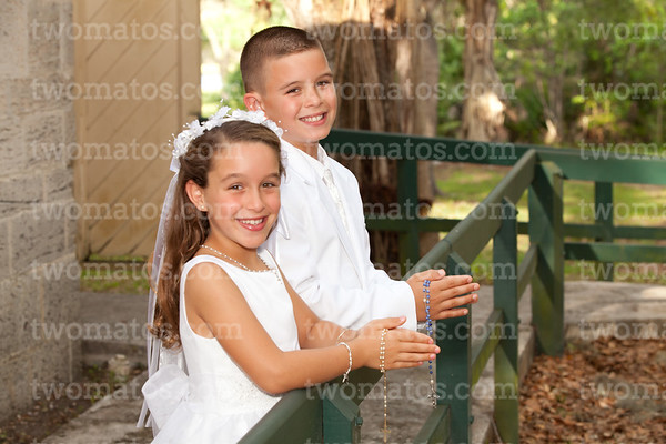 Joseph and Evelyn's Communion