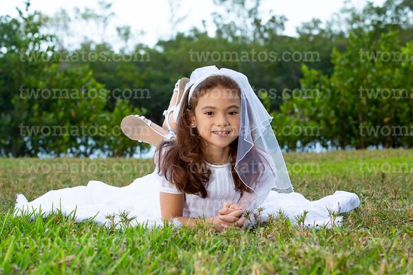 Zenaby's First Communion