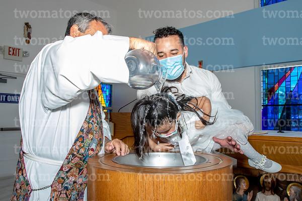 Valeria's Baptism