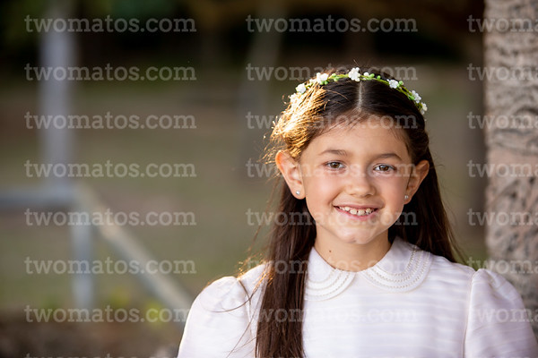 Marcela's First Communion