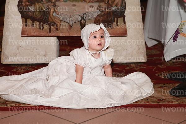 Julia Baptism