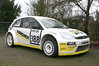 Ford RS200 Escort rally car with ASTs