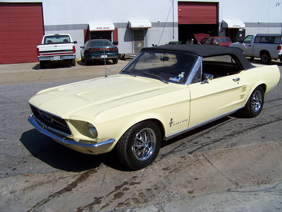 67 Mustang Convertible - Doug