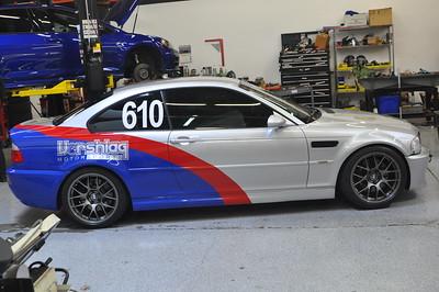 Jon Holman's 2003 BMW e46 m3 Track Car