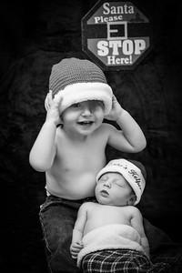 Luke Newborn BW--11