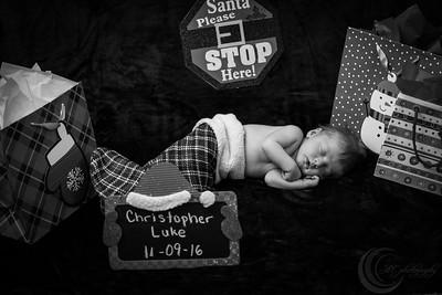 Luke Newborn BW--19