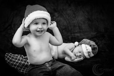 Luke Newborn BW--14