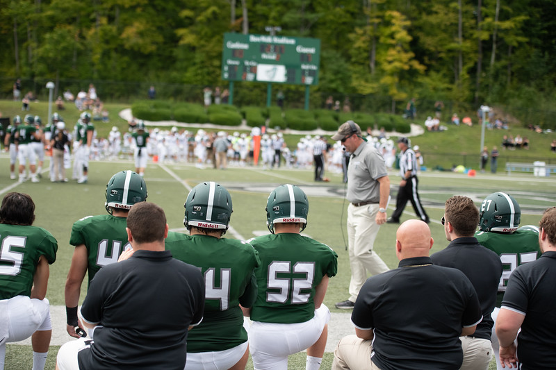 Castleton University 2019 football season opener against Plymouth State