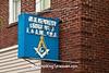 "December - ""Neon Masonic Lodge Sign, Beloit, Wisconsin"""