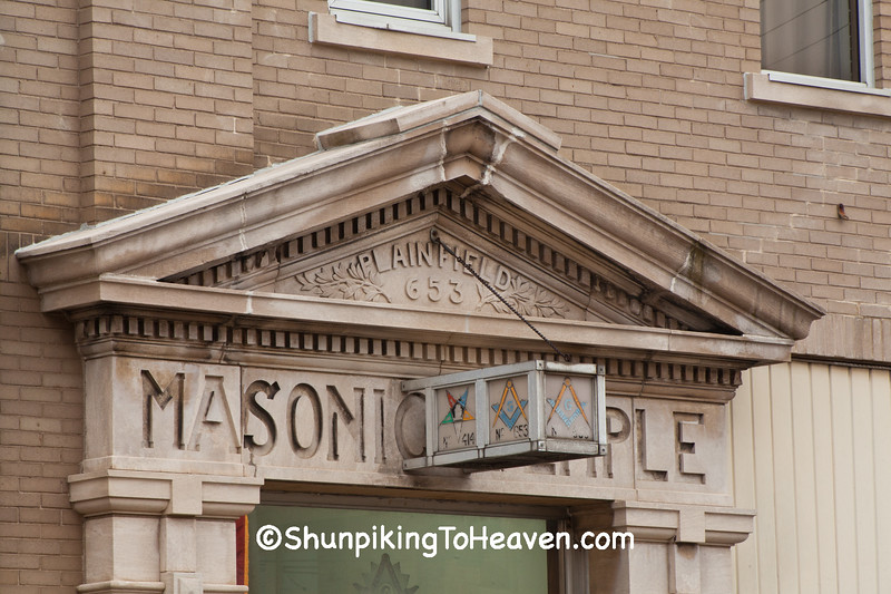 "September - ""Masonic Temple, Plainfield, Indiana"""