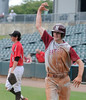 Hartselle's Deacon Aldridge celebrates his score in the 5A AHSAA state championship finale won by Hartselle 3-2 over Spanish Fort at Riverwalk Stadium in Montgomery, Ala., May 18, 2013.  By David Bundy