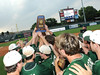 Pelham players hold their trophy after the game in the 6A AHSAA state championship finale, won by Pelham 1-0 over Hewitt-Trussville at Riverwalk Stadium in Montgomery, Ala., May 18, 2013.  By David Bundy