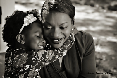 Mother Daughter Portrait