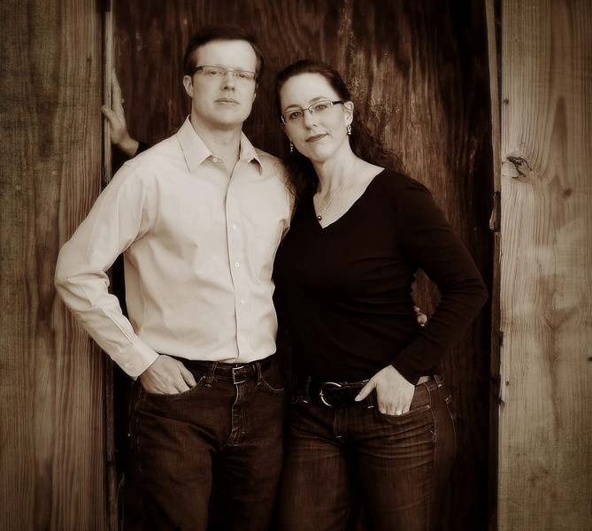 Craig and Carrie Banks, Feb. 13, 2011. Montgomery AL. (By David Bundy)