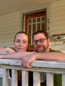Jay Munsch and Eudora Struble, Winston-Salem NC,  Sept. 22, 2012. By David Bundy