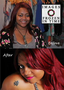 Express Mini MakeOver Before and After - August 2014