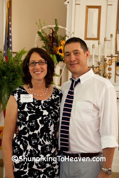 Board Member Diana Hutchinson with Husband Brian Hutchinson