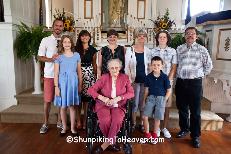 Mae Hartwig and Family