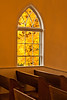 Window of First Lutheran Church, Middleton, Wisconsin