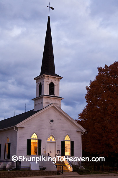 First Lutheran Church, Lit from Within, Middleton, Wisconsin