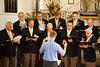 Madison Maennerchor Singing Closing Hymn at Annual Service