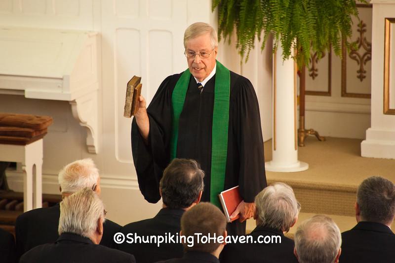 Rev. Ken Michaelis Speaking