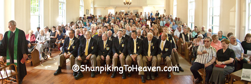 Madison Maennerchor and Guests Who Attended Annual Service
