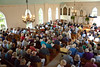 """Guests Singing """"Little White Church on the Hill"""" at Annual Service"""