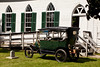 Board Member Gary Splitter's 1912 Ford Model T Touring Car Parked by Church