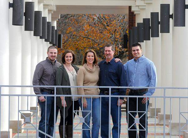 Gill family, Jan. 6, 2013