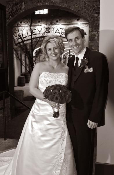 Julie and Brian wedding 12312012