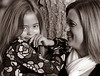 Kym Klass and daughter Jenna, Oct. 7, 2009. (David Bundy)