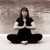 Lisa Bundy does Yoga in Montgomery, Ala., Sunday, Oct. 8, 2011. By David Bundy