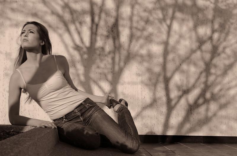 Marjorie Jean Monnier, downtown Montgomery, AL., March 20, 2012. (By David Bundy)